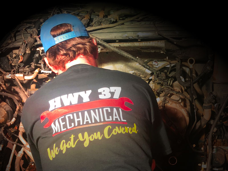 Hwy37 Mechanical - T-Shirts